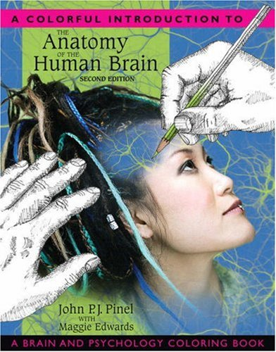 A Colorful Introduction to the Anatomy of the Human Brain: A Brain and Psychology Coloring Book 9780205548743