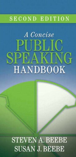 A Concise Public Speaking Handbook 9780205502448