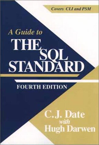 A Guide to SQL Standard 9780201964264