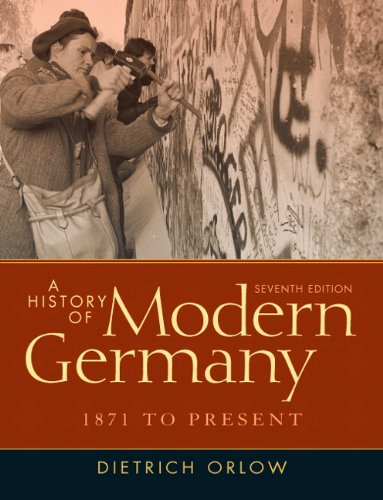 A History of Modern Germany: 1871 to Present 9780205214433