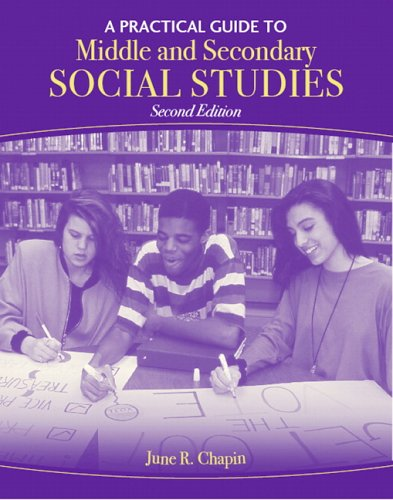 A Practical Guide to Middle and Secondary Social Studies 9780205492435
