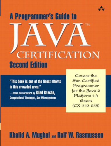 A Programmer's Guide to Java(tm) Certification: A Comprehensive Primer 9780201728286