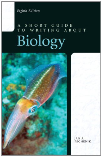 A Short Guide to Writing about Biology 9780205075072