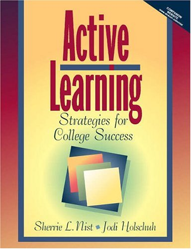Active Learning: Strategies for College Success 9780205288564