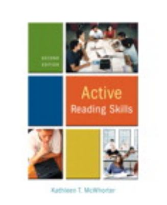 Active Reading Skills [With Myreadinglab] 9780205734429