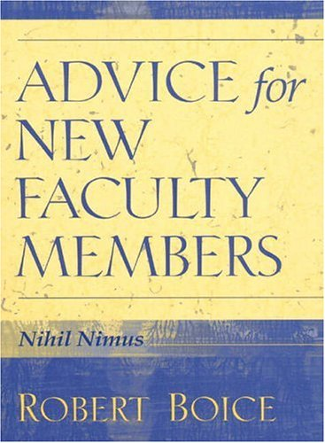 Advice for New Faculty Members 9780205281596
