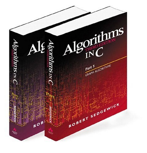 Algorithms in C, Parts 1-5 (Bundle): Fundamentals, Data Structures, Sorting, Searching, and Graph Algorithms 9780201756081
