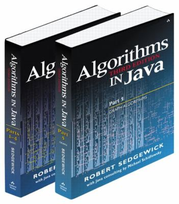 Algorithms in Java: Parts 1-4; Part 5
