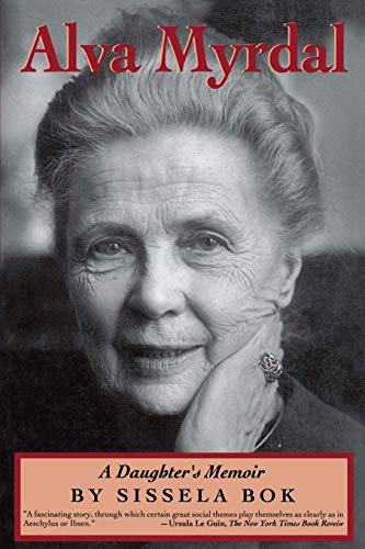 Alva Myrdal: A Daughter's Memoir 9780201608151