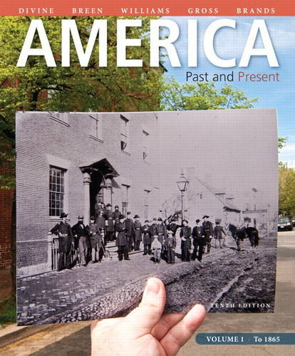 America: Past and Present, Volume 1 9780205905195