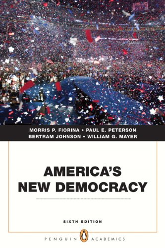 America's New Democracy 9780205806737
