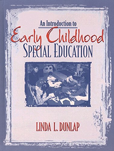 An Introduction to Early Childhood Special Education 9780205184408