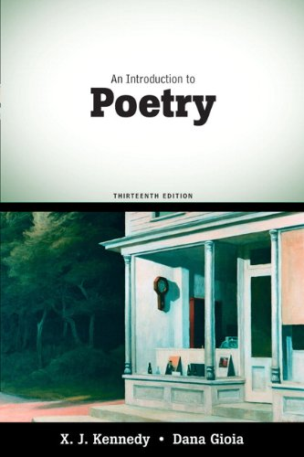 An Introduction to Poetry - 13th Edition