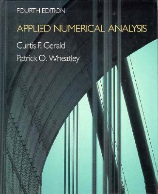 Applied Numerical Analysis 9780201115833