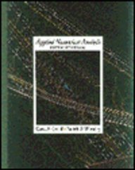 Applied Numerical Analysis 9780201565539