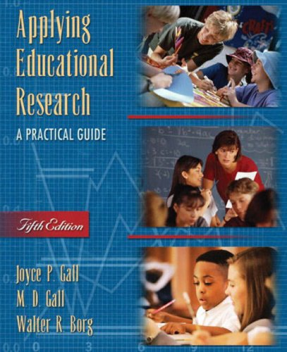 Applying Educational Research: A Practical Guide 9780205380787