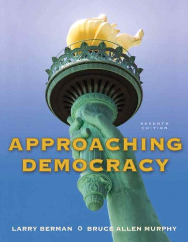 Approaching Democracy 9780205778478