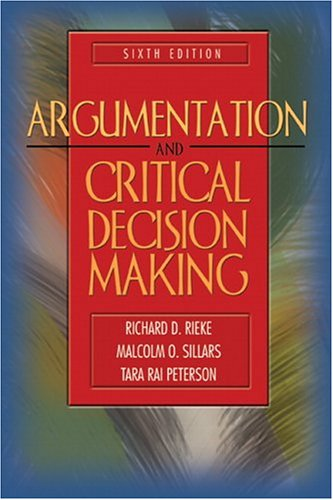 Argumentation and Critical Decision Making 9780205417933