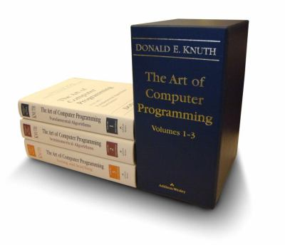 Art of Computer Programming, The, Volumes 1-3 Boxed Set 9780201485417