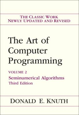 Art of Computer Programming, Volume 2: Seminumerical Algorithms - 3rd Edition
