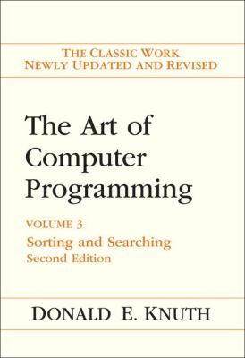Art of Computer Programming, Volume 3: Sorting and Searching 9780201896855