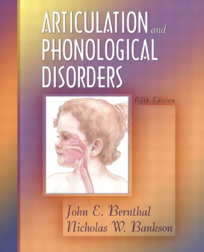 Articulation and Phonological Disorders 9780205347902