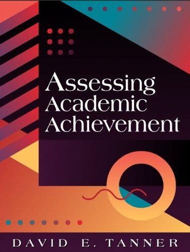 Assessing Academic Achievement 9780205282661