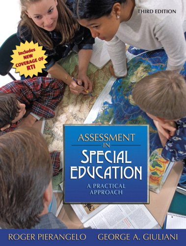 Assessment in Special Education: A Practical Approach 9780205608355