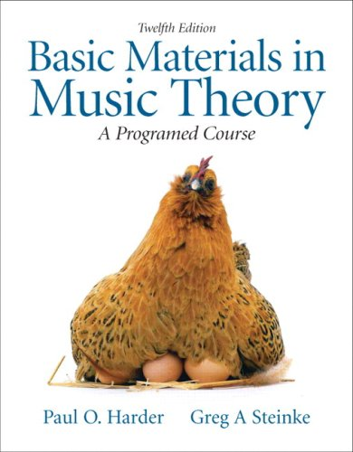 Basic Materials in Music Theory: A Programed Course [With CDROM] 9780205633937
