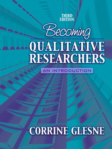 Becoming Qualitative Researchers: An Introduction 9780205458387