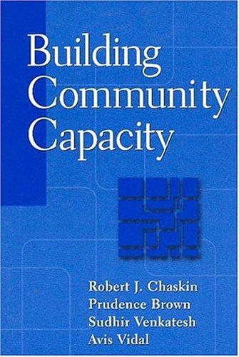 Building Community Capacity 9780202306407