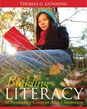 Building Literacy in Secondary Content Area Classrooms 12785160
