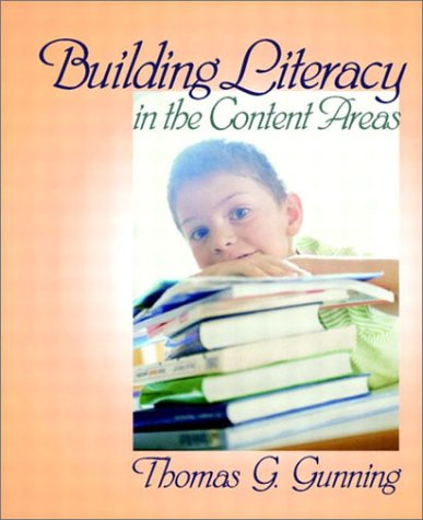 Building Literacy in the Content Areas 9780205319589