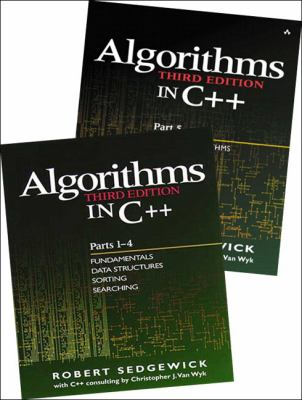 Bundle of Algorithms in C++, Parts 1-5: Fundamentals, Data Structures, Sorting, Searching, and Graph Algorithms 9780201726848
