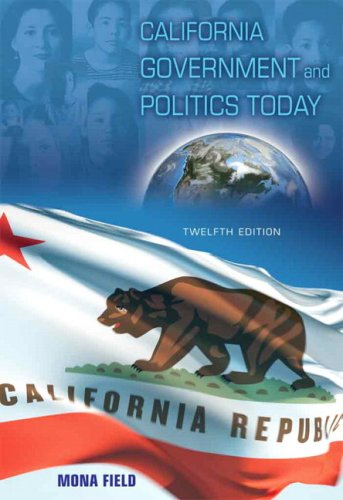 California Government and Politics Today 9780205620074