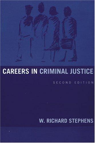 Careers in Criminal Justice 9780205321537