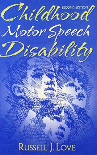 Childhood Motor Speech Disability 9780205297818