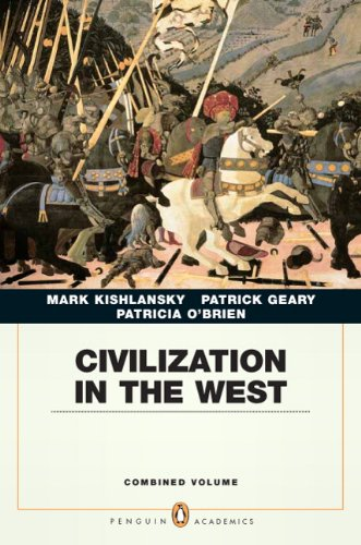 Civilization in the West: Combined Volume 9780205664733