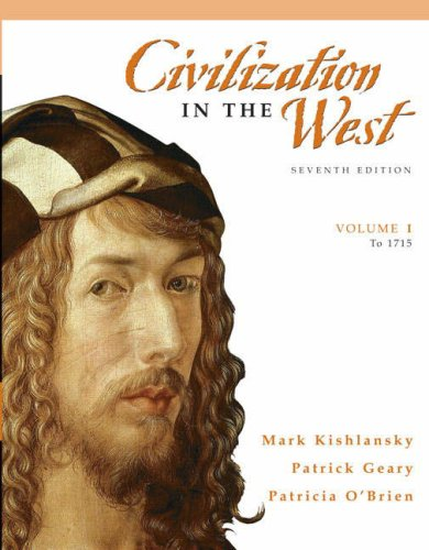 Civilization in the West: Volume 1: To 1715 9780205556854