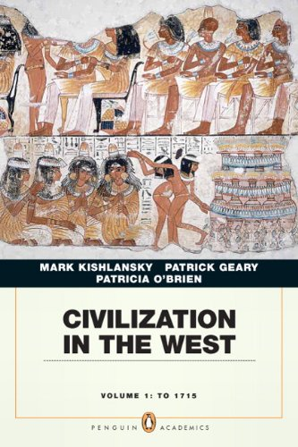 Civilization in the West, Volume 1: To 1715