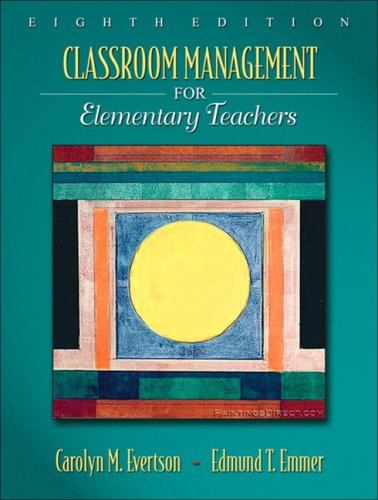 Classroom Management for Elementary Teachers 9780205578627
