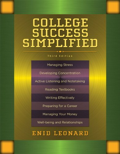 College Success Simplified 9780205757374