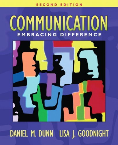 Communication: Embracing Difference 9780205478910