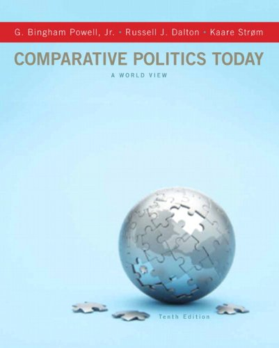 Comparative Politics Today: A World View 9780205109135