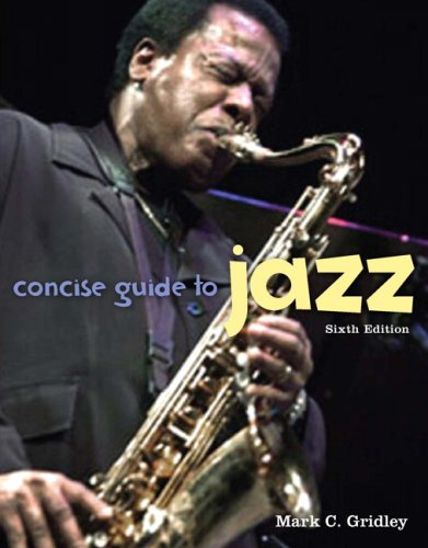 Concise Guide to Jazz 9780205659425