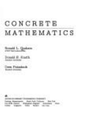 Concrete Mathematics - 1st Edition
