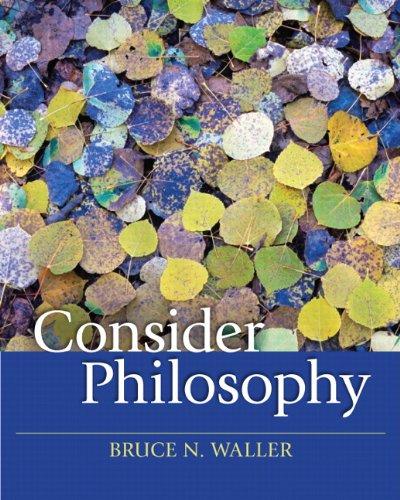 Consider Philosophy 9780205644223
