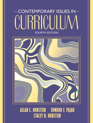 Contemporary Issues in Curriculum 9780205489251