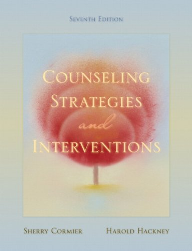 Counseling Strategies and Interventions 9780205521630
