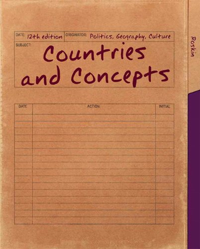 Countries and Concepts: Politics, Geography, Culture 9780205854653